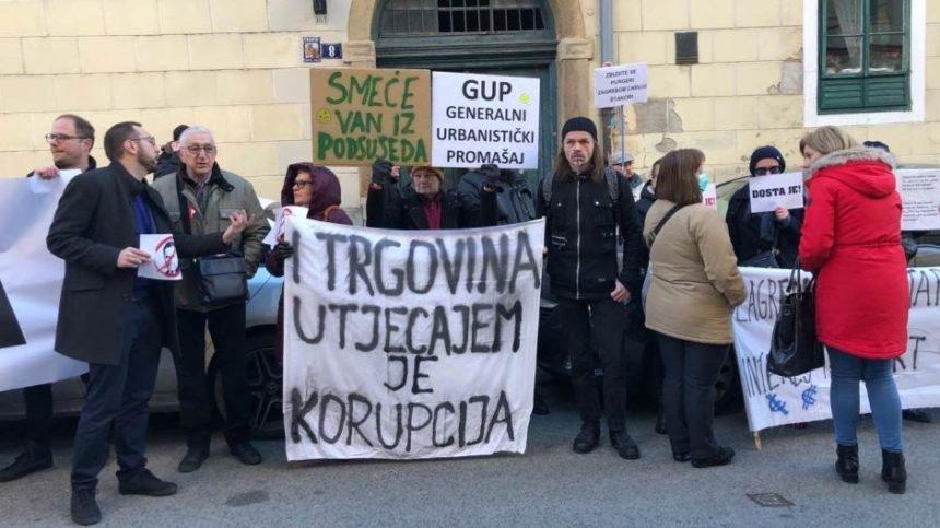 """Prosvjed protiv """"Bandićeve otimačine grada"""": Što će danas  o GUP-u odlučiti gradski vijećnici"""