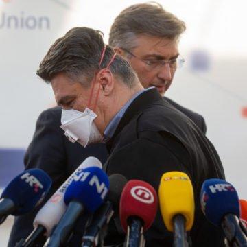 Paljba ne posustaje: HDZ na Facebooku objavio snimku Milanovićevog pada s transportera