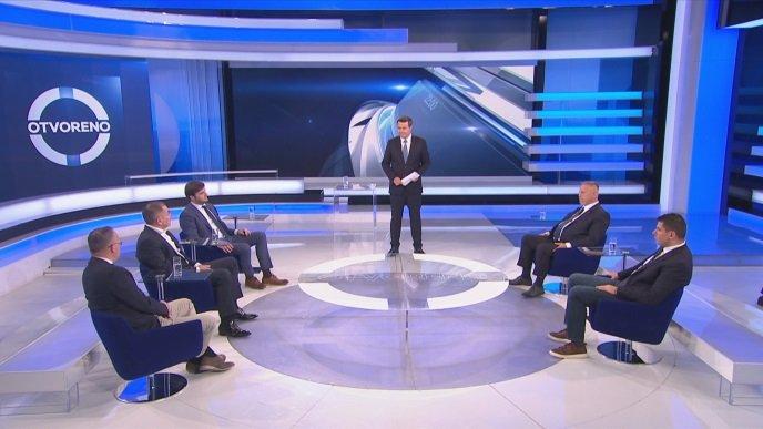 """Kakva svađa u Otvorenom: Grmoja i Lovrić """"pola emisije"""" upadali jedan drugom u riječ"""