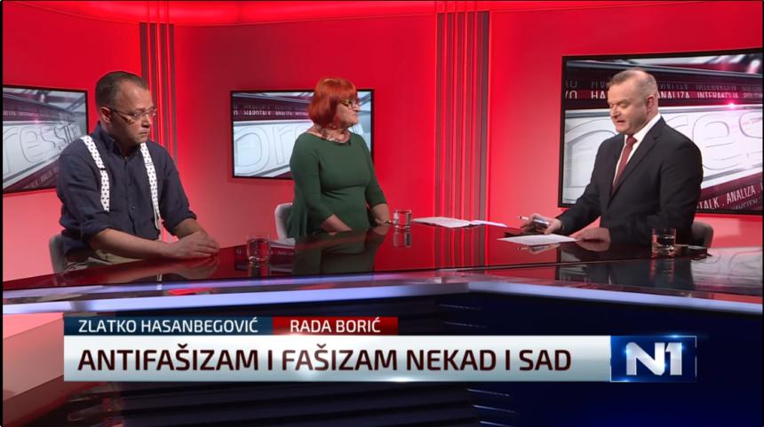 """Hasanbegović """"preuzeo"""" definiciju fašizma od Rade Borić: Ako je to fašizam, onda je i Tito bio fašist"""