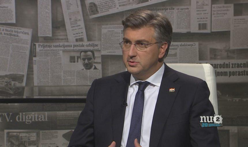 Plenković vrlo kritičan prema Škori i Bernardiću: Evo što je rekao o Pupovcu