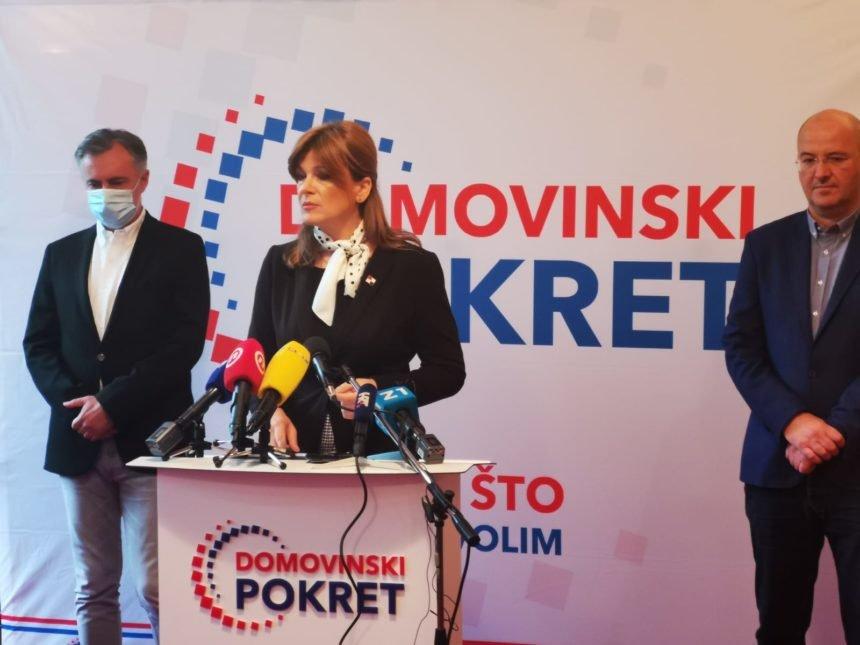 Karolina Vidović Krišto žestoko kritizira Plenkovića: Protuustavnom većinom sastavlja novu Vladu