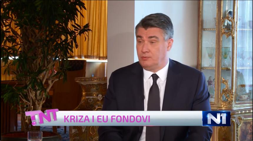 Što predsjednik misli: Treba li Karolina Vidović Krišto nositi masku u Saboru?
