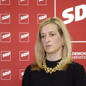 Ambiciozna SDP-ovka ponovno optužuje ministra Ćorić: On nije čovjek s integritetom