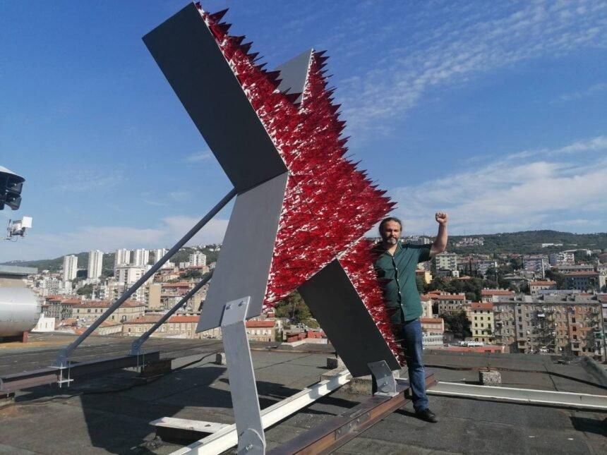 Komunistička zvijezda na Riječkom neboderu: Više mi sliči na provokaciju nego na izražavanje umjetničke slobode