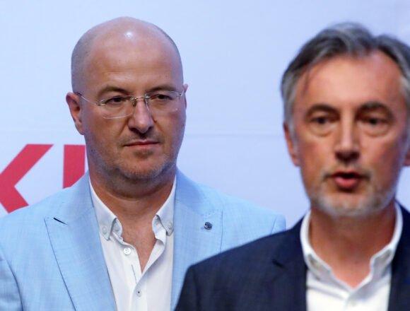 Politički tajnik Domovinskog pokreta Mario Radić: Zvali smo mostovce nekoliko puta, ali se oni nisu odazvali