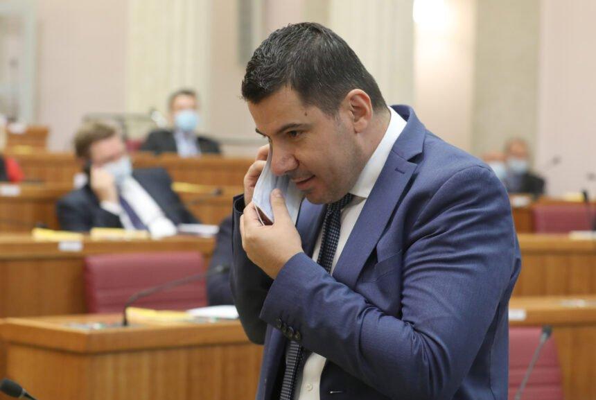 Nikola Grmoja žestoko napao novog zastupnika HDZ-a: Lagao je