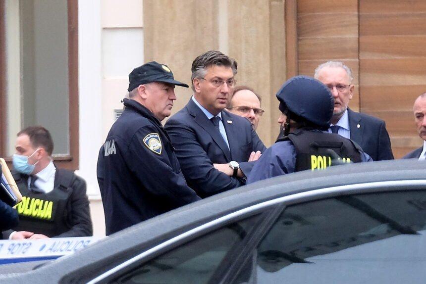 Pušten muškarac koji je osumnjičen da je ozbiljno prijetio hrvatskom premijeru