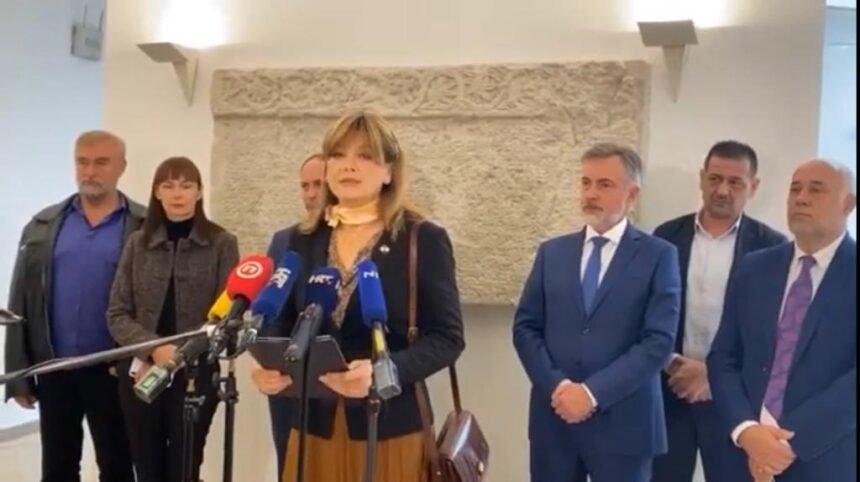 VIDEO: Domovinski pokret traži odgovornost Plenkovićeve Vlade: Zbog brutalne korupcije nema novaca za medicinske sestre i policajce