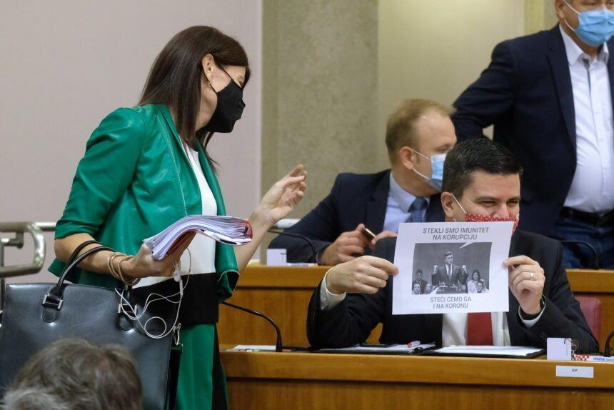 """Sabina Glasovac optužila Plenkovića da je otvorio """"sezonu lova"""" na Hajdukovića: Šokirana je reakcijom Želja Rainera"""