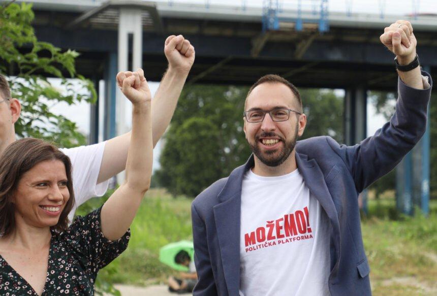 Mate Kapović iz Radničke fronte teško optužuje Tomislava Tomaševića: Uništio je Zeleno-lijevu koaliciju