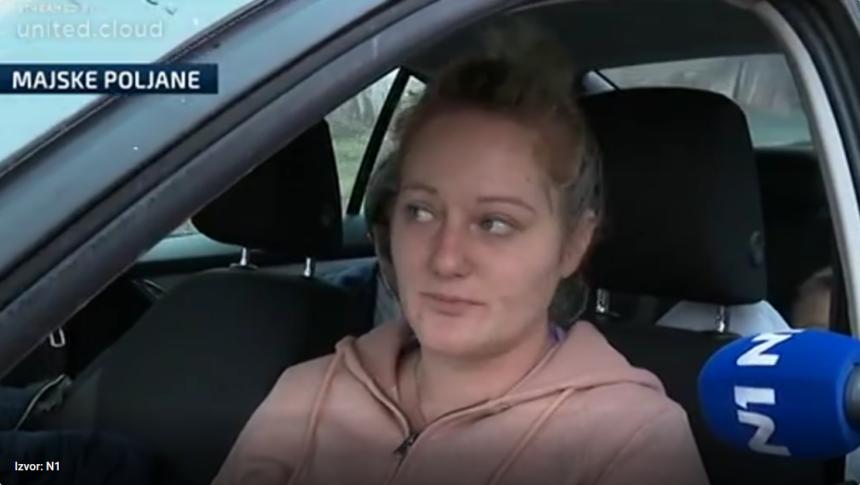 Tužna priča iz razrušene Majske Poljane: U autu sam provela noć s djecom