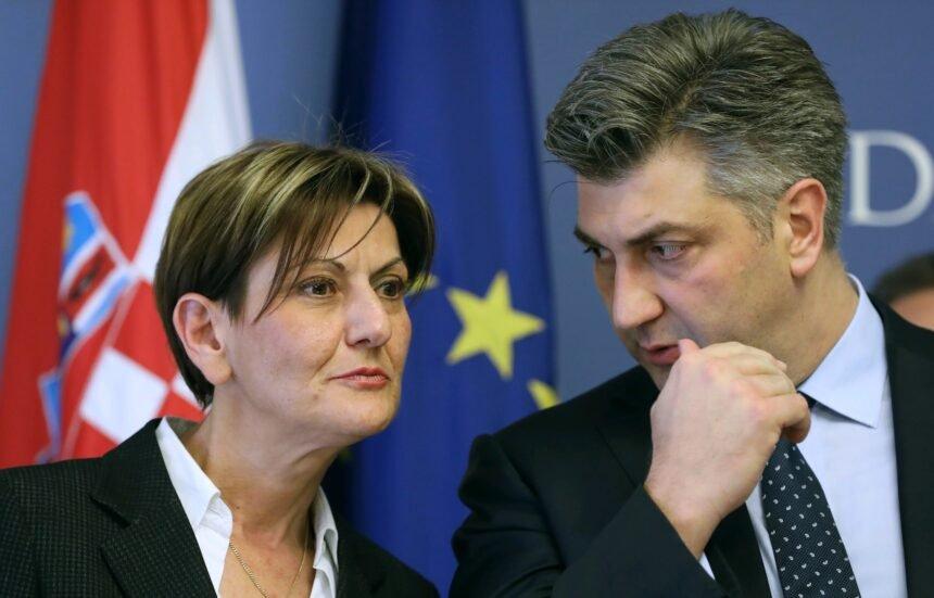 Plenković odlučio: Njegova miljenica Martina Dalić postaje šefica Podravke