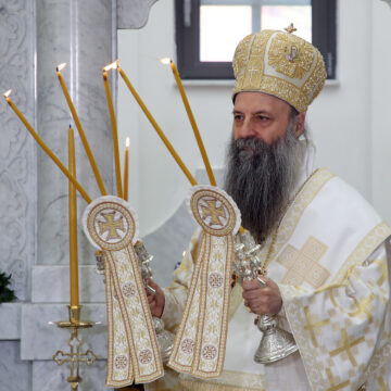 Zagonetna izjava novoizabranog srpskog patrijarha Porfirija: Kosovo je za nas mit