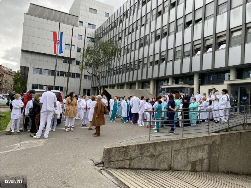 Prosvjed protiv Plenkovićeve štićenice doktorice Zadravec: Mnogi razmišljaju o davanju otkaza