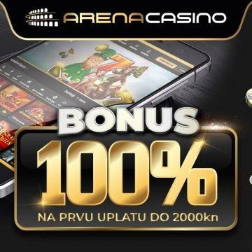 Istražite Arena Casino online, saznajte prednosti prvog hrvatskog iCasina i uzmite najbolje bonuse dobrodošlice