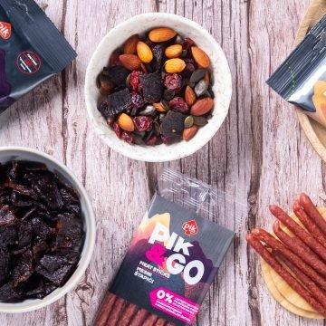 PIK Vrbovec na tržište je uveo novu liniju proizvoda – 100% mesne grickalice PIK&GO