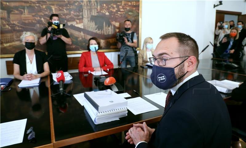 Tomašević: Stanje s gradskim financijama je gore od očekivanog, uskoro novi pročelnici