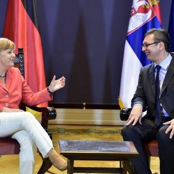 Angela Merkel u Beogradu: Dalazi Vučićeva zaštitnica i prijateljica
